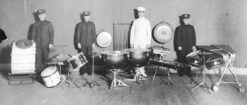 Percussion Section - click to enlarge